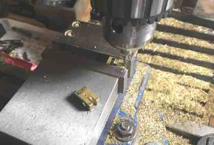 21 Spanner bracket milling