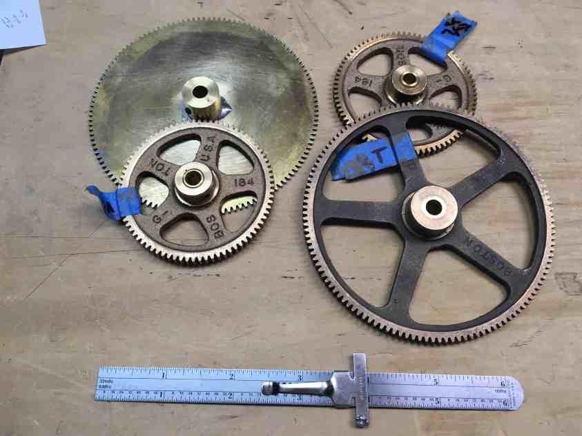 Venus Orrery gears