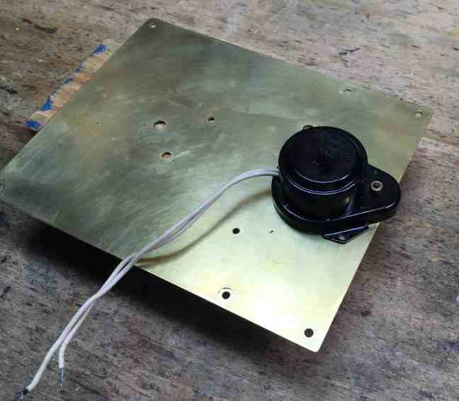 Orrery motor painted 2
