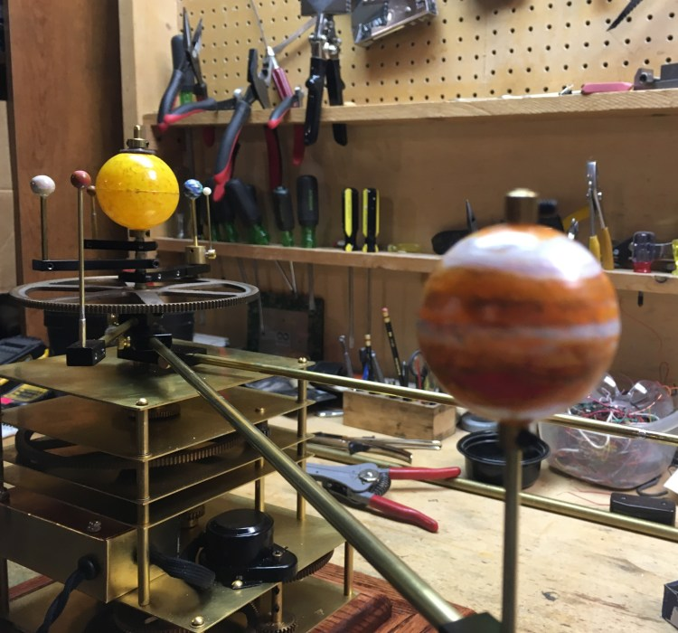 Orrery Jupiter Painted