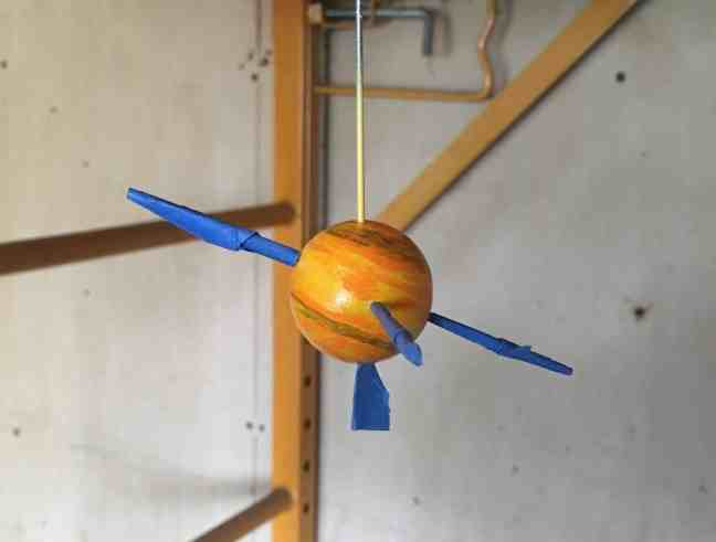 Orrery Saturn 2