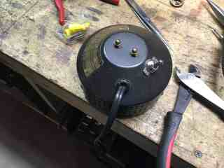 Lamp Switch mounted