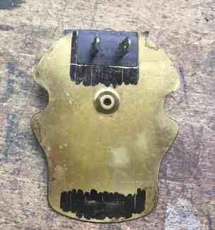 17 cutting brass plate