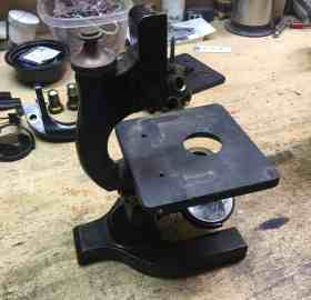 Microscope replacement base 1