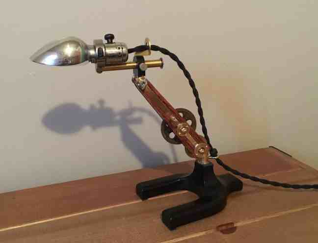 93 Steampunk Lamp 1