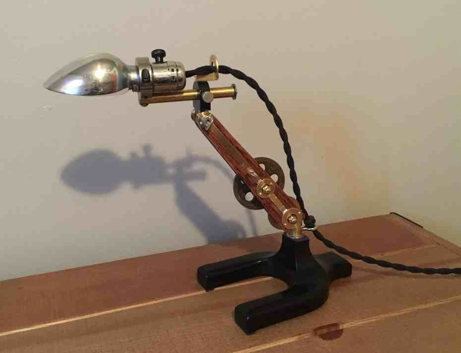 93 Steampunk Lamp 1