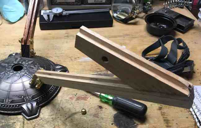 52 Lamp arm mounted