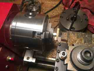 52 paddle gear machining 1