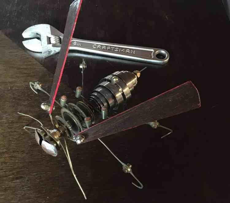 Steampunk Wasp Sculpture