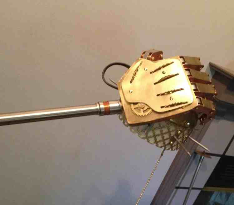16 New Steampunk Hand Lamp
