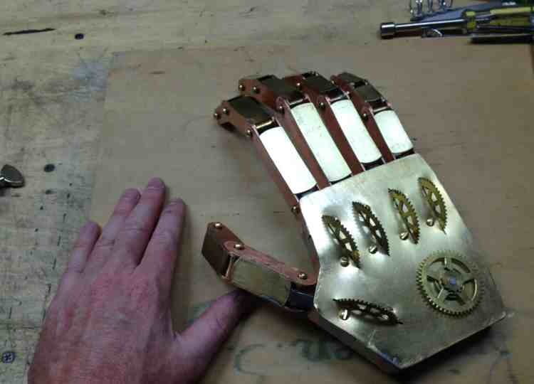 6 Steampunk Hand