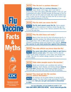 flu-vaccine-facts-myths