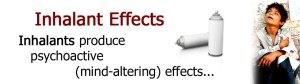 Inhalant effects