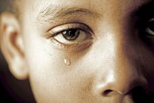 child abuse emotional tears