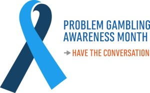 problem gambling ribbon