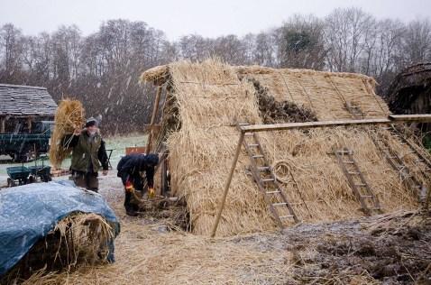 anglo saxon longhouse
