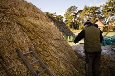 anglo saxon longhouse