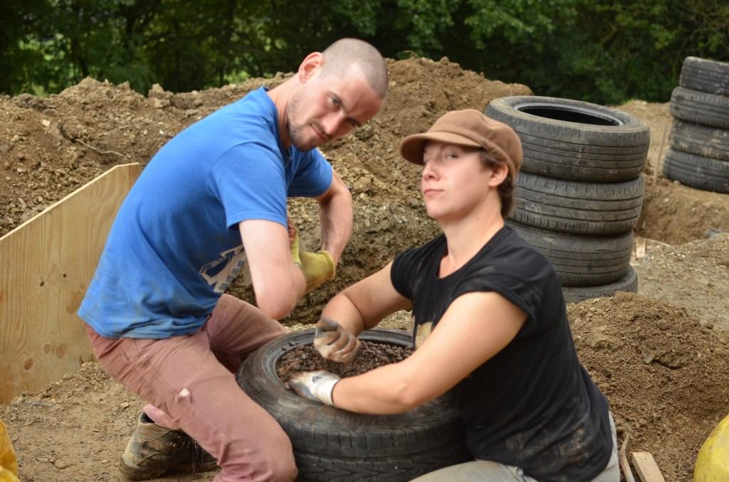Car tyre foundations team