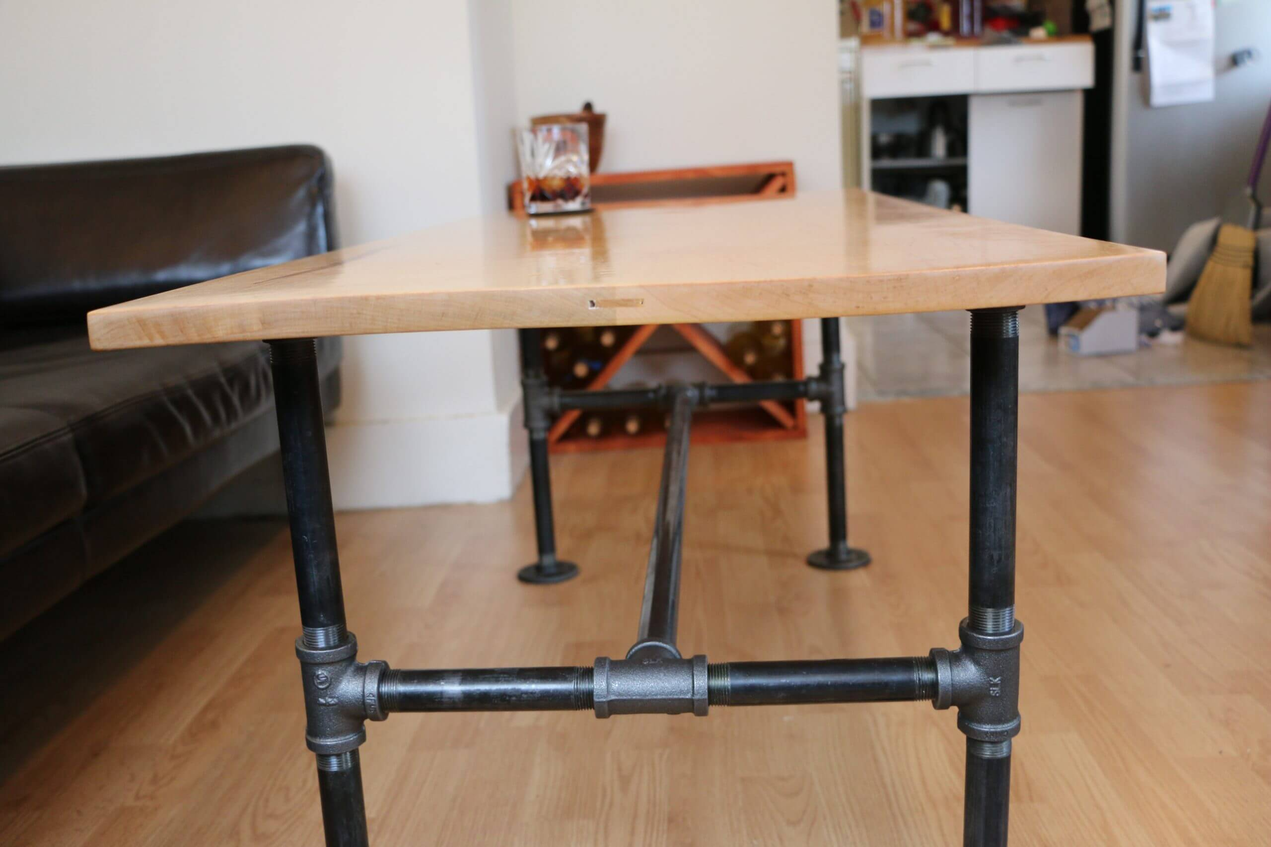 modern coffee table supports