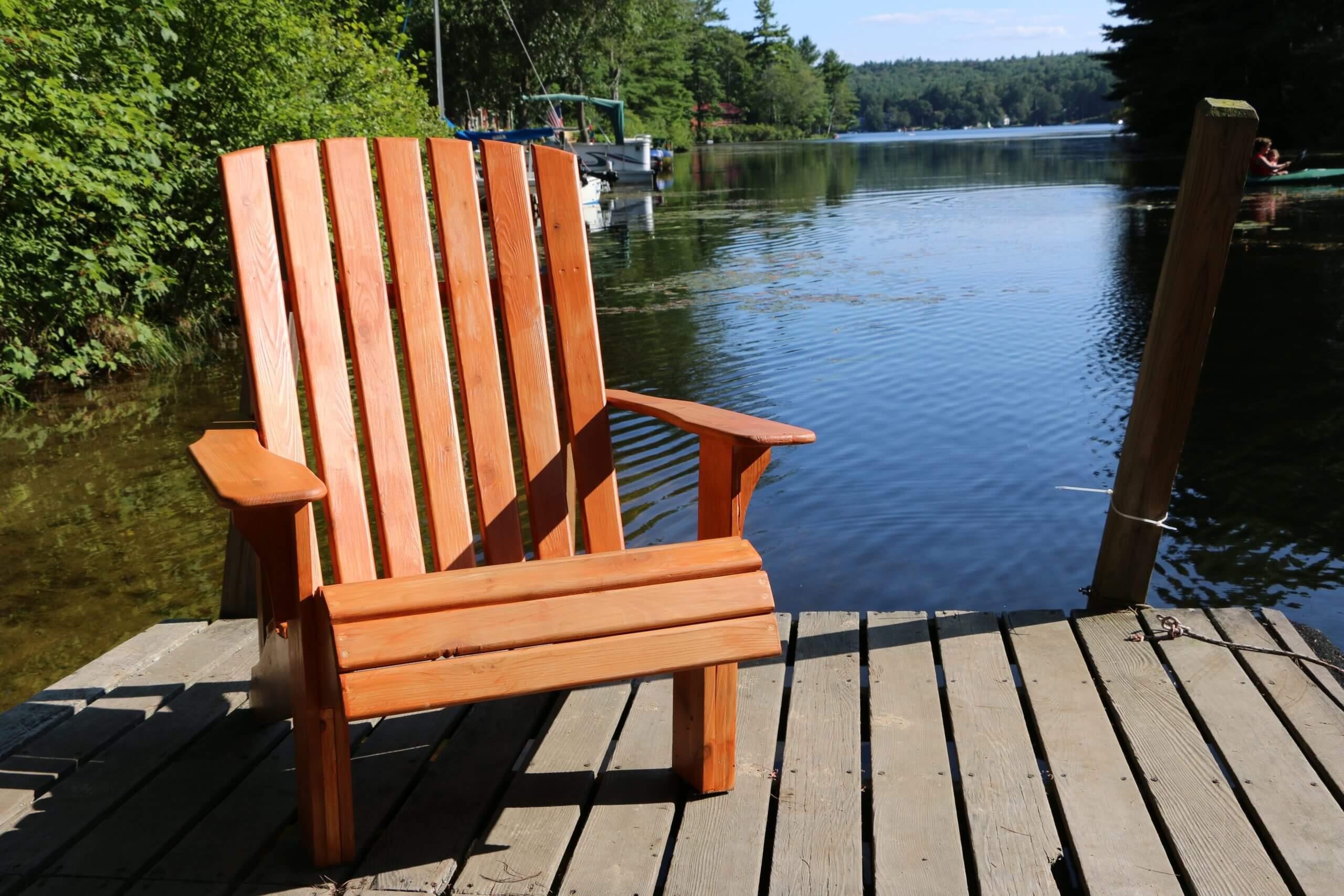 How to build Adirondack chairs