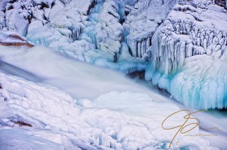 Livermore Falls Blue & White