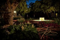 Evening In The Garden, Prescott Park Gardens At Night ...