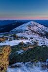 Lafayette To Lincoln Winter On Franconia Ridge.