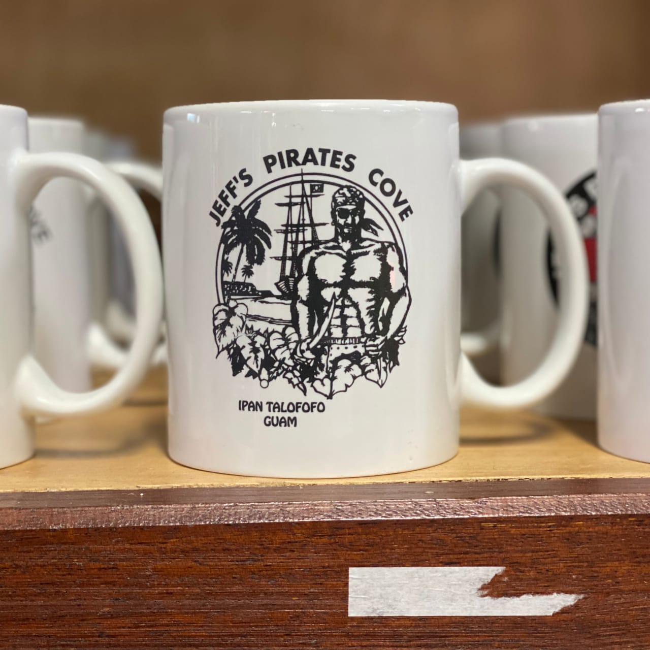 Original Pirate Coffee Mug | Jeffs Pirates Cove Chest