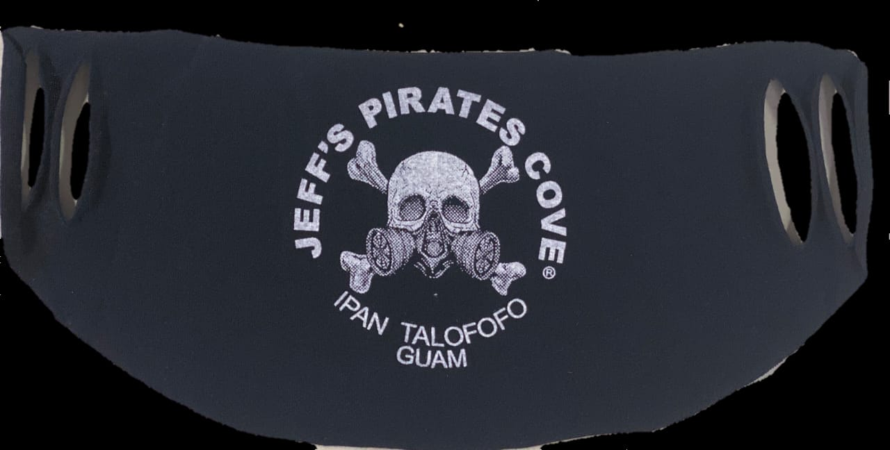 Pirate Facemask by Jeffs Pirates Cove Chest