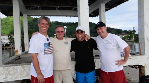 """The Lost Clipper"" film crew in Micronesia"