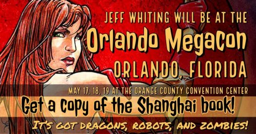 Jeff Whiting at Orlando Megacon