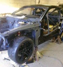 don wood ford mustang challenge project ford mustang chassis [ 2032 x 1520 Pixel ]