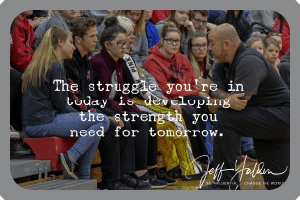 Moments are made in High School Assemblies with High School Motivational Speaker Jeff Yalden