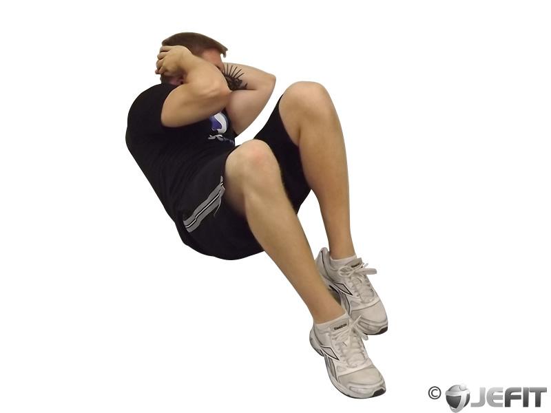 Cross Body Crunch  Exercise Database  Jefit  Best