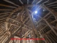 Atap Mbaru Niang Tampak Dalam
