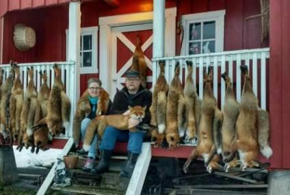 Rune og Bjørg har skutt 100 rev denne sesongen