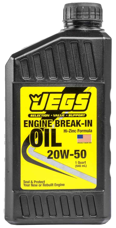 Jegs Performance Products 28068 Breakin Oil 20w50 Quart