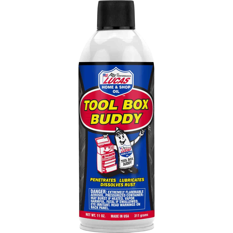 Lucas Oil 10392 Tool Box Buddy Aerosol 11 Oz  Jegs