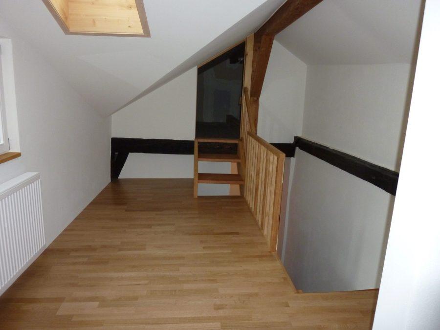 Dachstock Renovation Flarzhaus