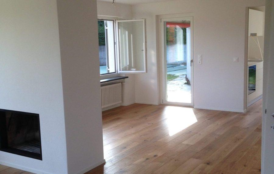 Sanierung Wohnzimmer