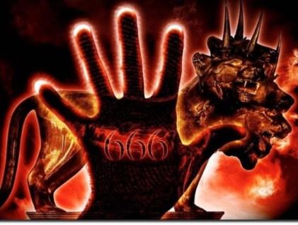 Het merkteken van het wilde beest het getal van een mens 666