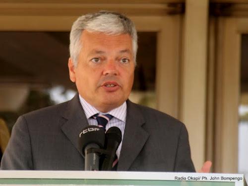 Didier Reynders préconise des contacts entre la CENCO et le président de la République