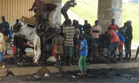 KIDNAPPERS BURNT IN ABUJA