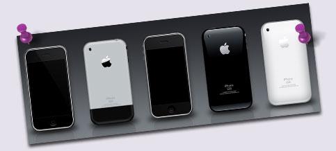 phone 3g psd