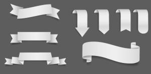 ribbons-vector