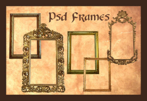 Psd_Frames_by_Adaae_stock