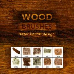 wood-photoshop-brushes