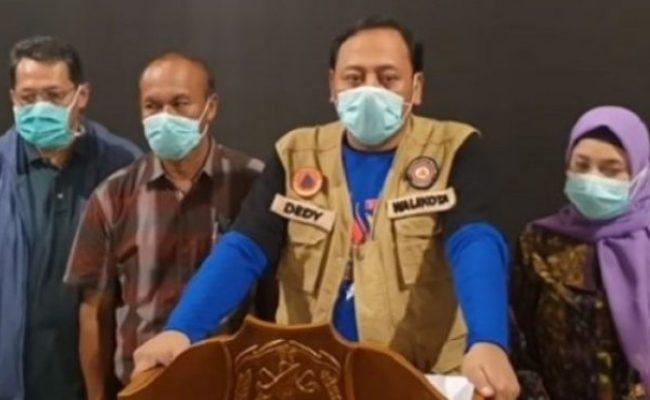 Pertama Di Indonesia Wali Kota Umumkan Tegal Lockdown
