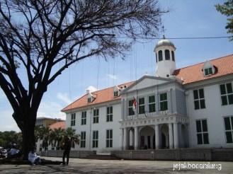 penampakan Museum Fatahillah atau Museum Sejarah Jakarta