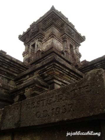 Candi Singosari - Restauratie O.D 1937